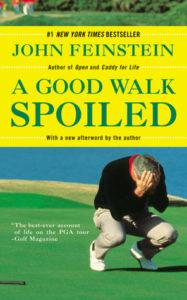 A Good Walk Spoiled Golf Book