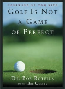 Golf Is Not Perfect Book