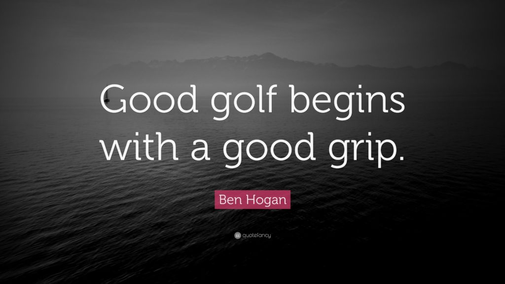 Ben Hogan Golf Grip
