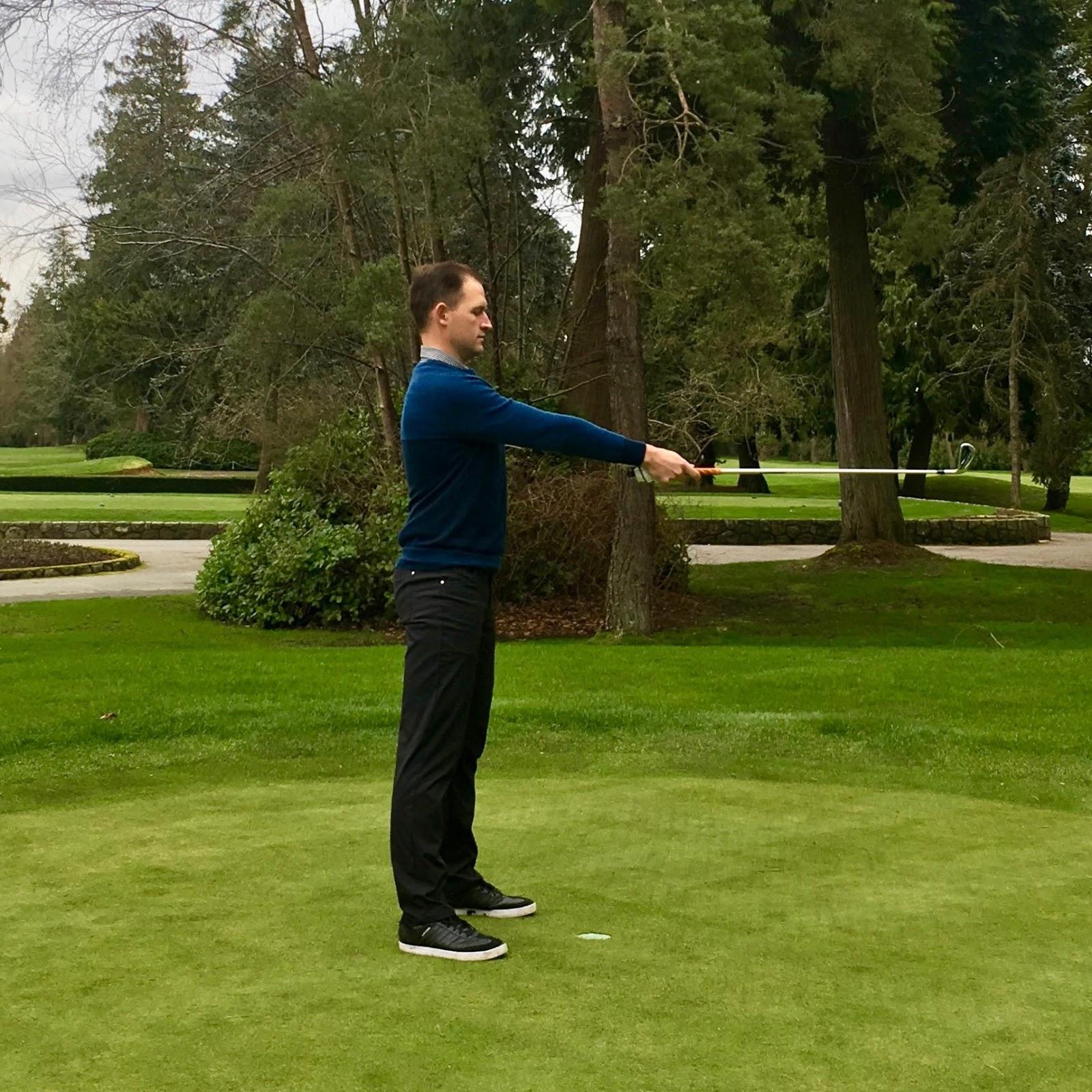Proper Golf Stance Step 1