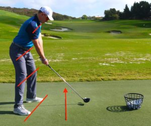 Driving Tip for Golf Preset Hips
