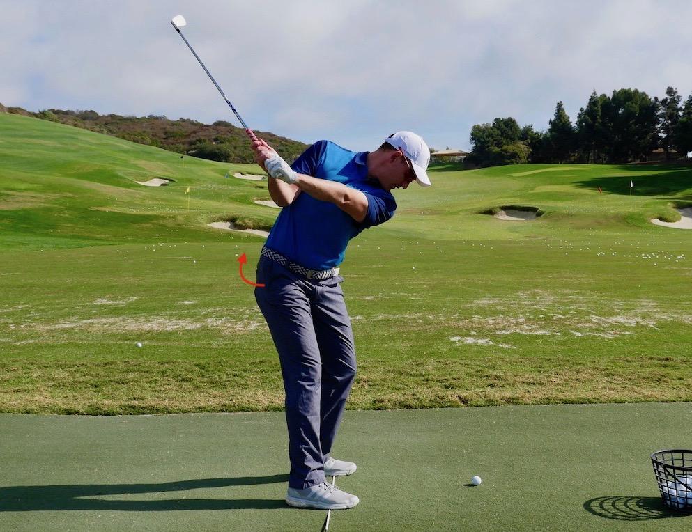 Golf Driving Tip Pocket Pull
