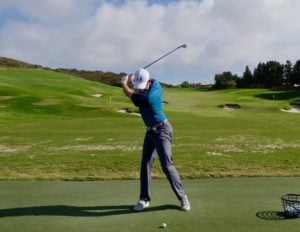 Golf Driving Tip Raise Left Heel